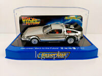 Slot Car Scalextric Superslot H4117 DeLorean Back to the Future