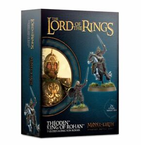 Theoden, King of Rohan on Foot and Horse Middle Earth Strategy Battle Game LotR