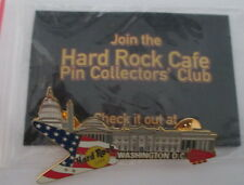Hard Rock Cafe Pin Collectors Club Washington, DC, New with bag