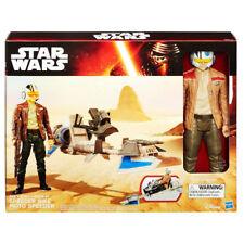 *Special Edition* Star Wars The Force Awakens 12-inch Speeder Bike w/Poe Dameron
