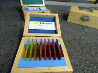 Edmund Optics Vis Filter Kit 47-418 2IN Square Filters