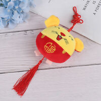 2020 Chinese New Year Plüsch Ratte Jahr Maskottchen Spielzeug Anhänger Plü YT