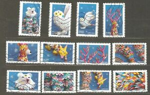 France: full set - 12 used stamps, Imaginations, 2019, Mi#7477-7488