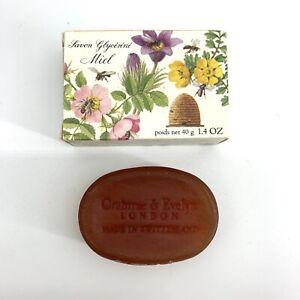 Crabtree & Evelyn Honey and Glycerine Soap No Colour 40g 1.4 OZ Travel Size Rare