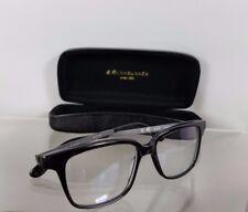 16d2ce5efc27 Brand New Authentic MASUNAGA 045 Eyeglasses Shiny Black 52mm Frame