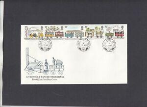 1980 Railways Post Office FDC Field Post Office 245 CDS