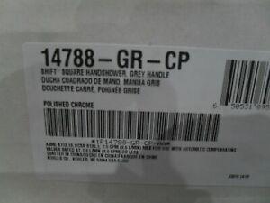 Kohler K-14788-GR-CP Shift Square hand shower w/ grey handle Chrome