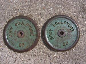 Body Sculpture Weight Plates 25kg x 2