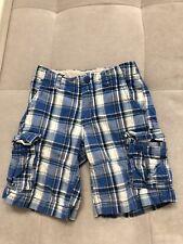 Gap Boys Cargo Blue White Shorts Size 7