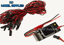 Rc receiver operated on/off multi commutateur 7 Outputs & fonctions de roquettes led uk