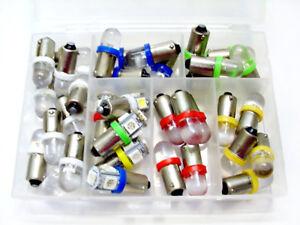 36pc Asst Instrument Panel Dashboard LED Lights Bulbs Kit BA9S 53 1895 Chevrolet