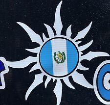 Guatemalan Sun Guatemala National Flag Car Decal Sticker