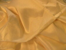 "CREAM SATIN 100% quality tight weave 1990's fabric~SCANT 2 YARDS x 46"" wide"