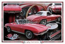 1965 Corvette Convertible Poster Print