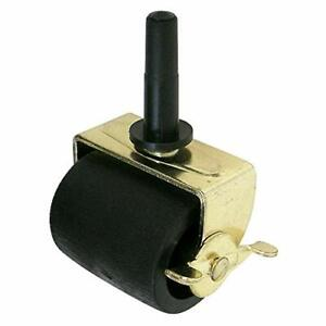 """2-1/4"""" Wide Bed Wide Soft-Tread, All Surface, Bed Frame Casters, with Brake"""