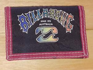 1990's Billabong Australia Rainbow Logo tri fold wallet surf & skate retro