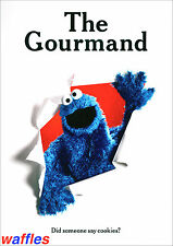 GOURMAND MAGAZINE * ISSUE #9  2017  COOKIE MONSTER * NEW MINT!  lucky peach