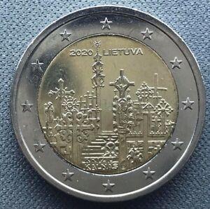 Lithuania 2 euro 2020   Hill of Crosses
