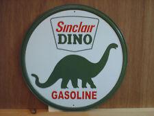 Sinclair Dino Gasoline Gas Tin Metal Sign Gasoline