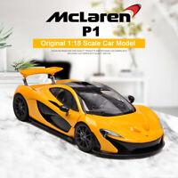 McLaren P1 - Diecast Car Model - 1:18 Scale - Yellow