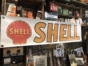 Shell Vintage Logo PVC Banner New