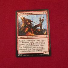 MTG Akoum Stonewaker Battle for Zendikar Magic the Gathering Red Card Uncommon
