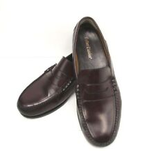 Leather Classics Mens Slip On Penney Loafers Size 14EE Cordovan