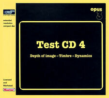OPUS 3 | Test CD 4 - Depth Of Image - Timbre - Dynamics CD XRCD