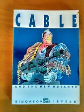MARVEL - CABLE AND THE NEW MUTANTS - LOUISE SIMONSON - TPB - VF