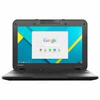 "REFURBISHED 11.6"" LENOVO N22 WITH CHROME OS PLAY STORE WEBCAM HDMI"