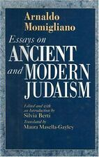 Essays on Ancient and Modern Judaism (Series; 1) by Momigliano, Arnaldo
