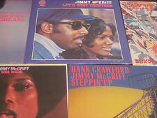 JIMMY MCGRIFF SOUL SUGAR LET'S STAY TOGETHER STEPPIN OUT GROOVE SOUL 5 LP SET