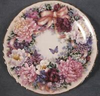 Circle Of Love Collector Plate Lena Liu Floral Greetings Bradford Exchange 1994