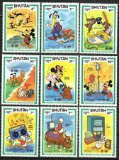 Bhutan Stamp - Disney characters celebrating World Communications - NH