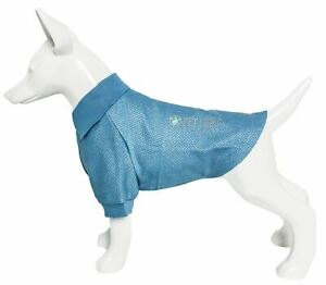 Pet Life 'Fur-Flexed' Quick-Dry and 4-Way Relaxed Stretch Dog Polo T-Shirt