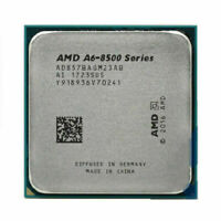 AMD A6-8570 CPU Dual-Core 3.5GHZ AD857BAGM23AB Socket AM4 Processors 100% Work