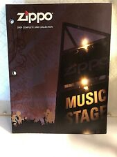 ZIPPO 2009 COMPLETE LINE COLLECTION CATALOG LIGHTER, ACCESSORIES,REFERENCE