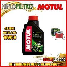 KIT TAGLIANDO 4LT OLIO MOTUL 5100 10W50 TRIUMPH 900 Tiger 900CC 1991-2000 + FILT