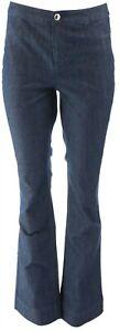 C Wonder Denim Boot Cut Fly Front Jeans Dark Indigo 4 # A286424
