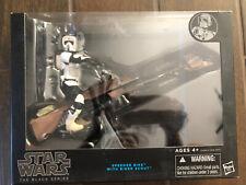 """Star Wars Black Series Speeder Bike with 6"""" Biker Scout Action Figure New"""