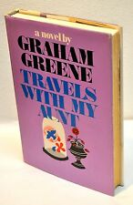 Graham Greene~ Travels With My Aunt~ Power & The Glory ~1st Edition/1st Printing