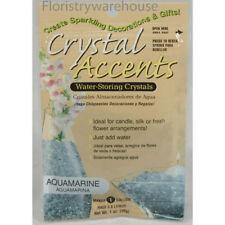 Crystal accents eau stockage gel 4 litre aquamarine