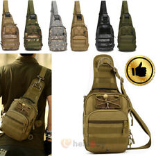 Men's Vintage Canvas Schoolbag Satchel Shoulder Messenger Bag Chest Bags Mens