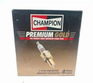 Box of 4 Spark Plugs Premium Gold Champion 2037