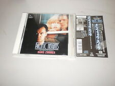 PACIFIC HEIGHTS - Hans Zimmer - ORIG OST JAPAN CD 1990 W/ OBI - SLCS 7044 - OOP
