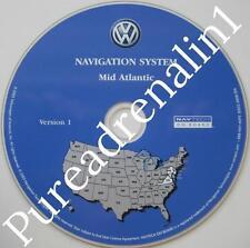 2004 VW VOLKSWAGEN TOUAREG NAVIGATION GPS CD 8 VER 1 MID ATLANTIC PA VA DE MD NJ