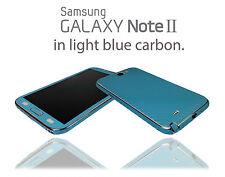 Fibra de carbono de la piel para Samsung Galaxy Note 2 envoltura pegatina Estuche Protector