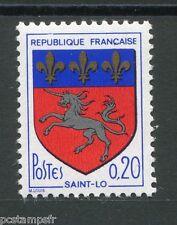 FRANCE 1966, timbre 1510, armoiries Saint Lô, neuf**