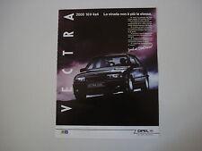 advertising Pubblicità 1991 OPEL VECTRA 2000 16V 4X4
