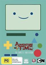 Adventure Time - Season 3 (DVD, 2 Disc Set) NEW R4 Series
